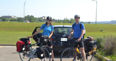 Cycling around Gaspesie, Quebec – 2011